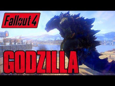 Fallout 4GODZILLA BOSS!Kaiju of the CommonwealthXbox & PC Mod