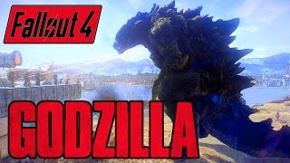 Fallout 4 - GODZILLA BOSS - Kaiju of the Commonwealth - Xbox PC Mod