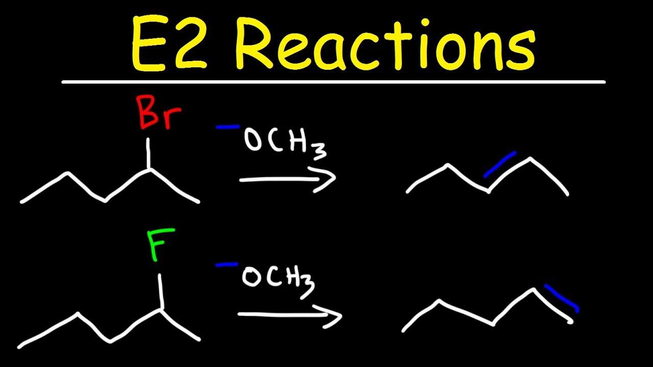 Download E2 Reaction Mechanism - Hoffman Elimination vs Zaitsev's Rule