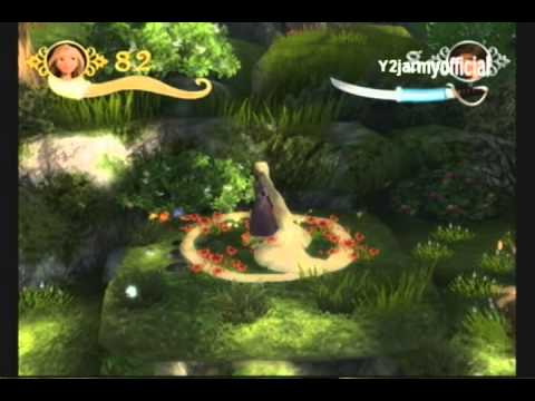 RAPUNZEL: Disney Tangled Full Game Walkthrough Part 1 ...