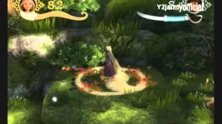 Disney Tangled Wii Walkthrough Part 1