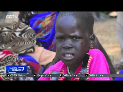 Thousands on the brink of starvation in South Sudan