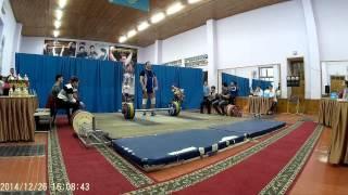 Федоров Олег - 122 рывок (26.12.2014 Кокчетав)