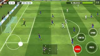 How to play REAL FOOTBALL apk 2018 vs france
