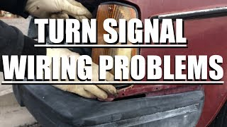 in detail: volvo 240 turn signal & wiring  youtube