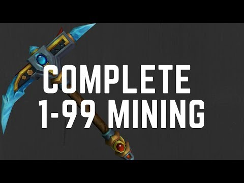 Complete 1-99 Mining Guide! 2019 After Rework | Runescape 3