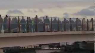 2006 07 01 23 12 18 Shoreham By Sea Footbridge Conga