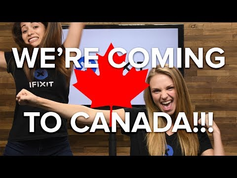 iFixit is Coming to Canada!