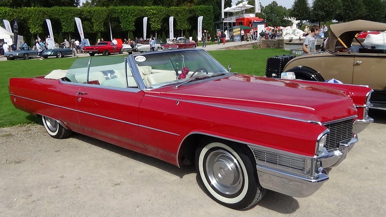 2016 Cadillac Convertible >> 1965 Cadillac De Ville Convertible Exterior And Interior Classic Gala Schwetzingen 2016