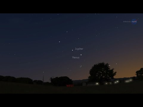 Venus And Jupiter Set For A Close Encounter Tuesday Night