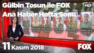 11 Kasım 2018 Gülbin Tosun ile FOX Ana Haber Hafta Sonu