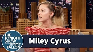 Miley Cyrus Describes Her Memorable First Time in the Subway