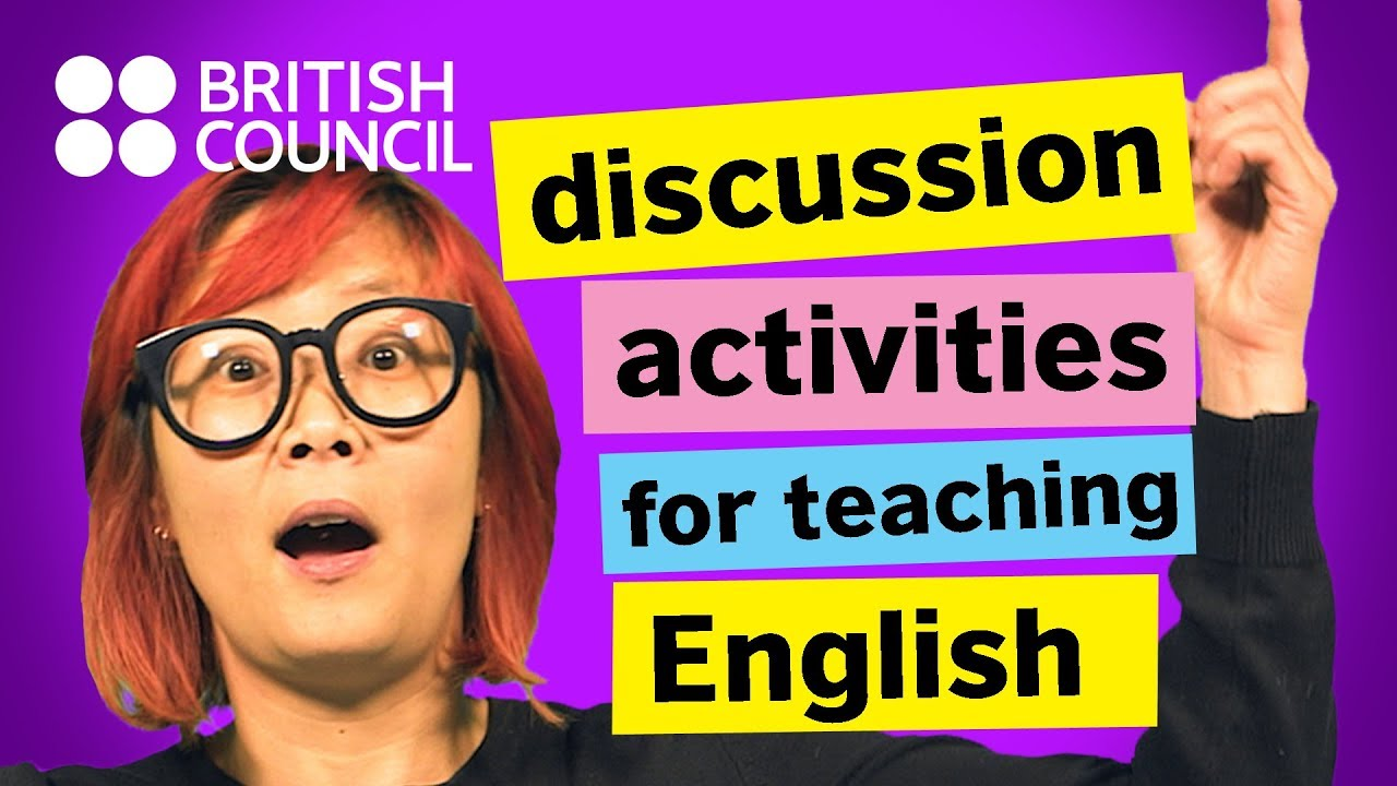 A few discussion activities for English language students