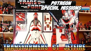 Patreon Special Missions: Transformers G1 Jetfire (1985)