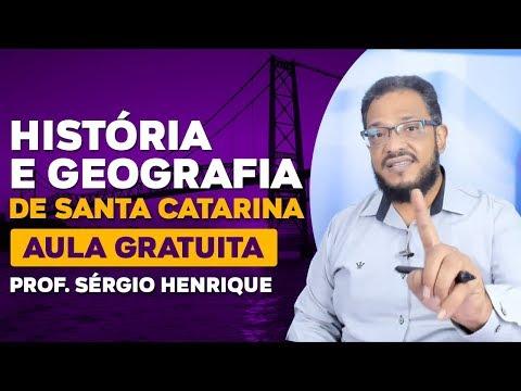 Aula Gratuita De História E Geografia De Santa Catarina - Prof. Sérgio Henrique