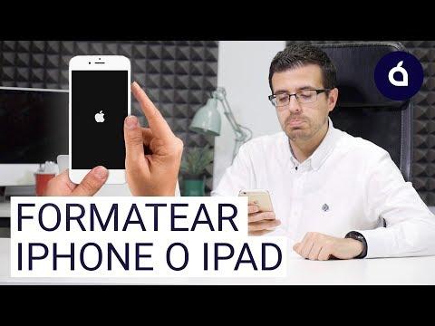 COMO RESTAURAR, FORMATEAR O BORRAR EL IPHONE O EL IPAD   Tutoriales De Applesfera