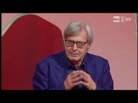 Vittorio Sgarbi: l'elogio del plagio e Roberto Saviano - Virus 01/10/2015