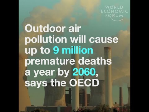 Outdoor air pollution will cause up to 9 million premature deaths a year by 2060, says the OECD