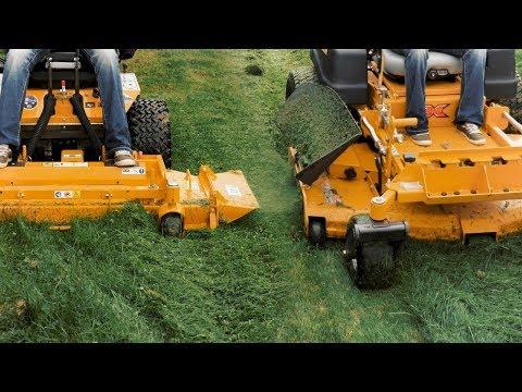 Which Mower Cuts Tall Wet Grass Better? | Walker Mower SD vs Hustler SD