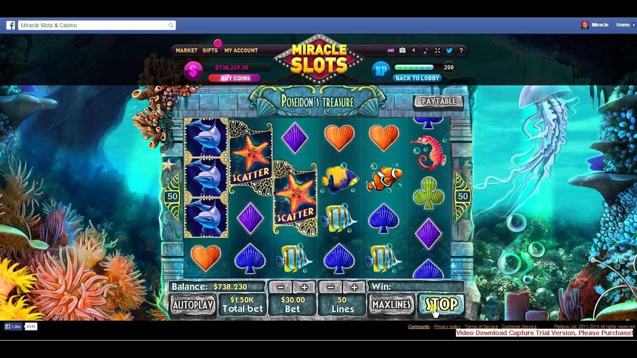 Poseidon slot games