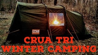 Crua Outdoors Tri Insulated Tent Winter Camping 2018 Impressions PLEASE SUBSCRIBE!