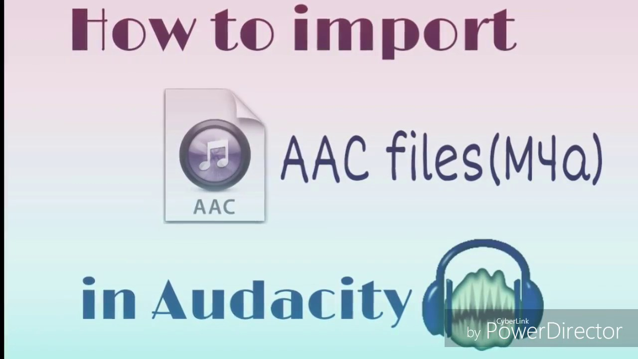 How To Import  AAC files(M4a) in Audacity | FFMPEG installation