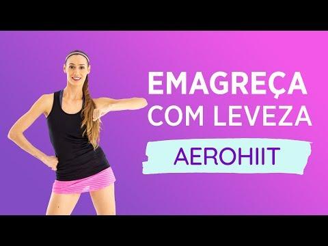 EMAGRECER EM 20 MINUTOS!! - AULA DE AEROHIIT