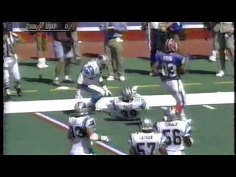 Jim Kelly vs. Frank Reich - Carolina at Buffalo September 10, 1995