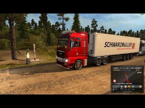 Euro Truck Simulator 2 ProMods 2.16 Finland Russian Border to Murmansk