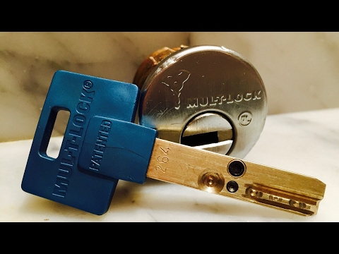Взлом отмычками Mul-T-Lock   Mul-T-Lock Interactive - Pick & Gut (Mul-T-Lock Interactive pick and gut video. Another awesome lock sent to me by Joshua.Drawing winner: +S