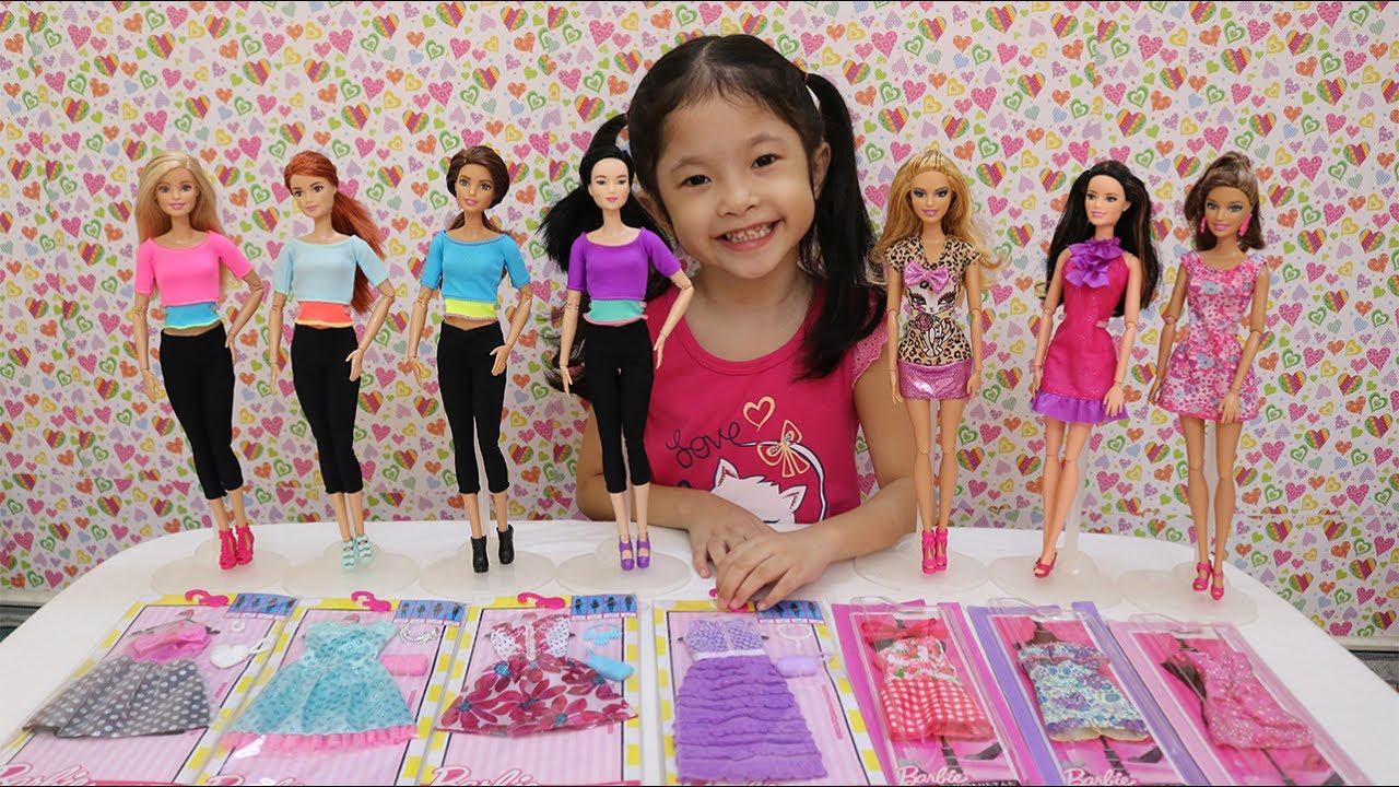 Những Bộ Quần Áo Mới Của Búp Bê Barbie – Barbie's New Dresses