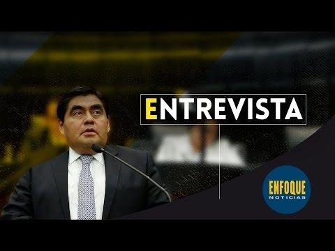 13/03/2017 Sen. Miguel Barbosa - Entrevista con Adriana Pérez Cañedo