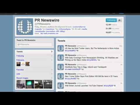 What is PR Newswire?
