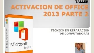 Solucion ERROR ACTIVACION OFFICE 2013 -