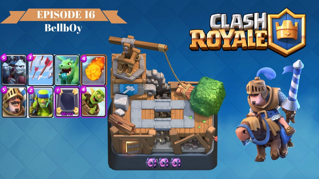 Clash Royale (Arena 6 / Builders Warehouse Attack Strategy / Reach ...
