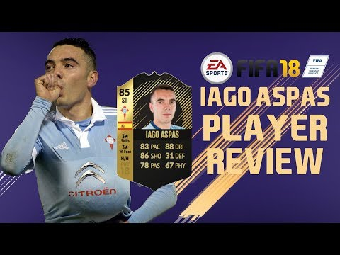 FIFA 18 IF ASPAS (85) REVIEW | FIFA 18 Ultimate Team - Player Goals and Highlights