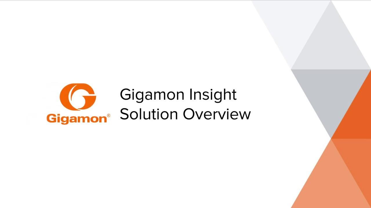 Gigamon Insight | Gigamon