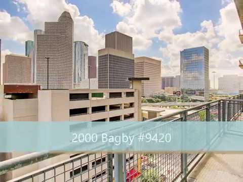 2000 Bagby #9412   FOR SALE In Houston's Midtown!