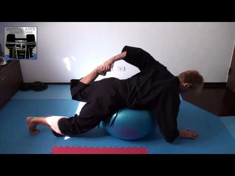 Swiss Ball Stretching Routine