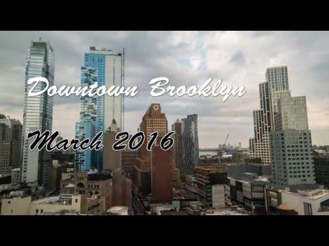 Downtown Brooklyn 4k Timelapse