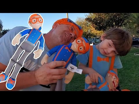 MY BLIPPI BUDDY TOY REVIEW All-new 2020 Talking Edition $40 Blippi Doll   What's Up With The Neck?