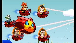 КОШАЧИЙ ОТРЯД #5 – Детский игровой мультик для детей! Naughty Kitties
