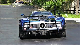 Pagani Zonda F One of 25 in the world 7.3 L  AMG V12 engine Delivery to Pagani Miami