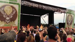 Chris Daughtry performs with Fuel