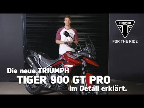 Die neue Triumph Tiger 900 GT - im Detail erklärt