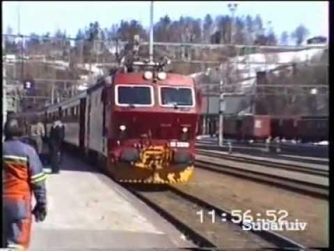 Norway 1995 (NSB) - Rauma Railway (Åndalsnes-Dombås)