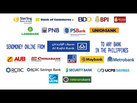 how to send money online to philippines using al rajhi bank