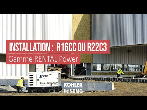 Comment installer un groupe lectrog ne r16cc ou r22c3 youtube - Comment installer un groupe filtrant ...