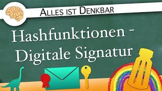 Hashfunktionen - Digitale Signatur