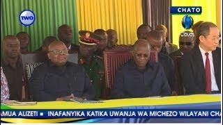 LIVE Ziara Ya JPM Chato, Sherehe za makabidhiano ya Nyumba 50 za watumishi wa afya